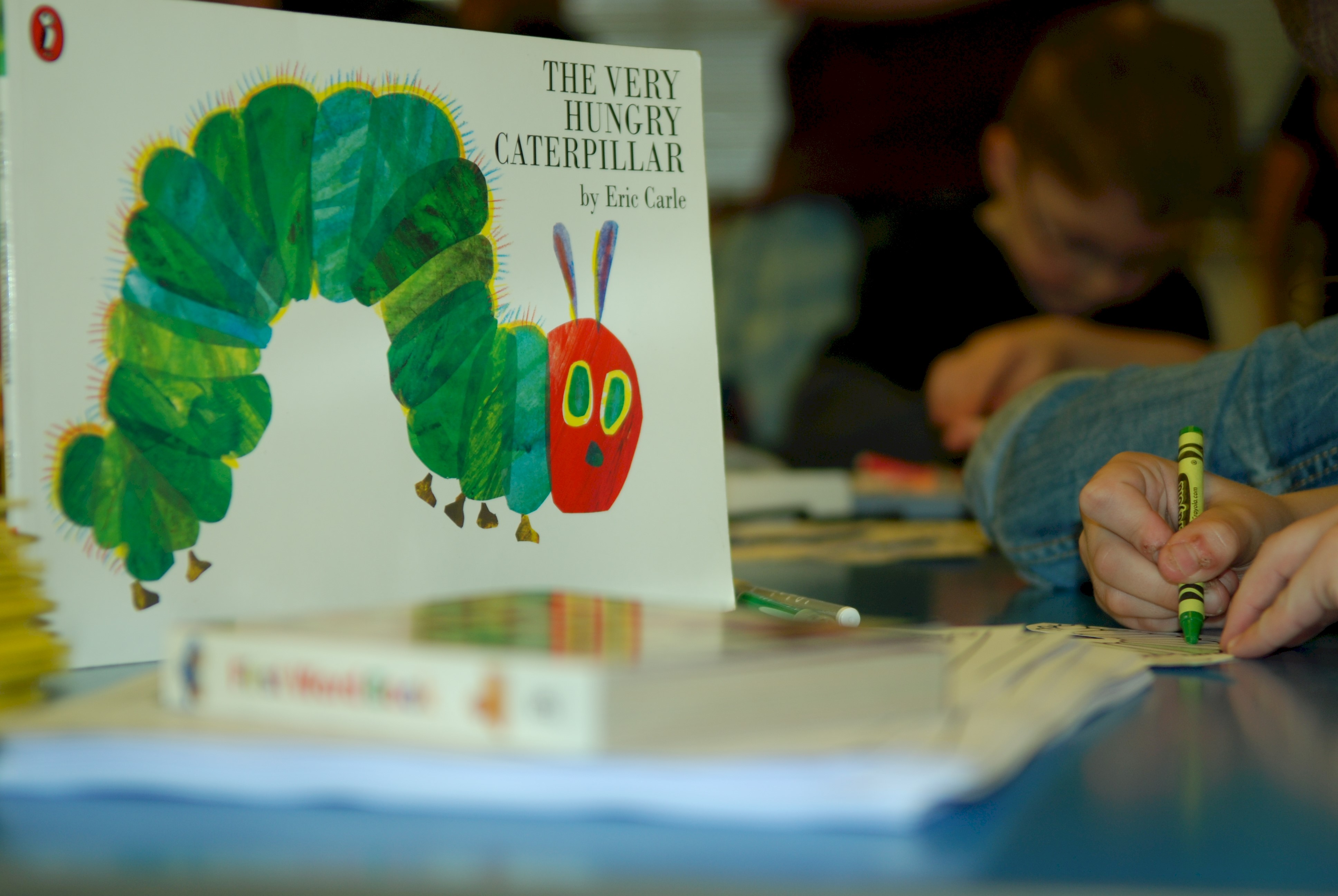 The hungry caterpillar book
